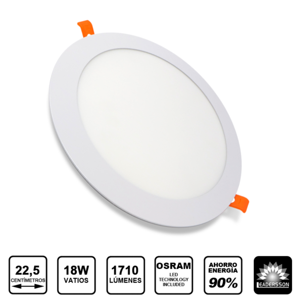 18W downlight pluton extraplano