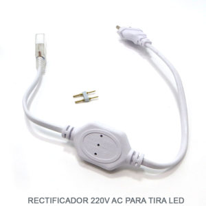 cable rectificador de corriente para tiras LED