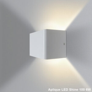 Aplique LED pared Shine 100 6W 2