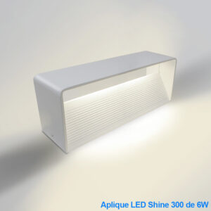 Aplique LED Blanco 6W Shine300
