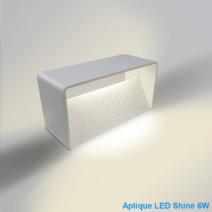 Aplique LED Blanco Shine 6W