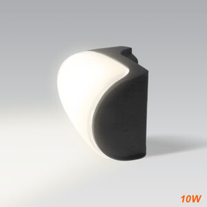 aplique led OVAL para pared