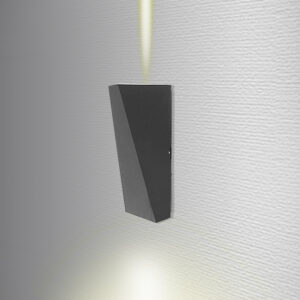 aplique led vertical para pared ramses