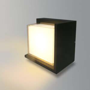 Aplique LED cuadrado 12w ip65