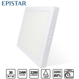 plafon LED 24W Superficie Epistar