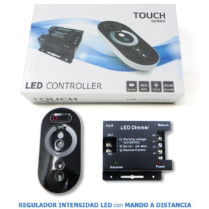 regulador LED dimmer 12V con mando RF