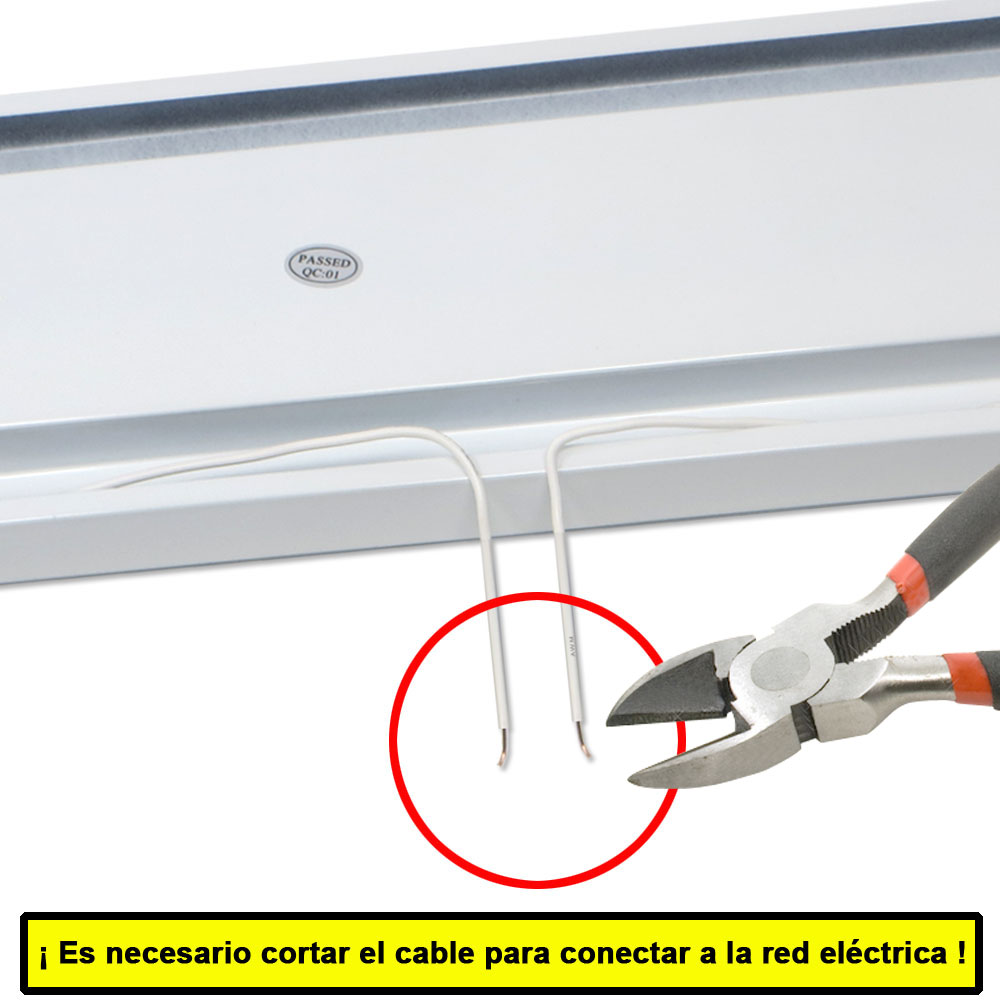 Conectar portatubos Energy LED