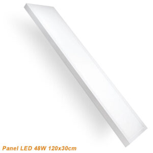 Panel LED superficie 120x30 blanco 48w
