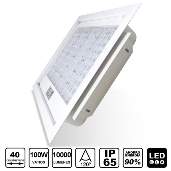 FOCO LED 100w GASOLINERAS 4