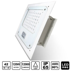 FOCO LED 120w GASOLINERAS 12000lm