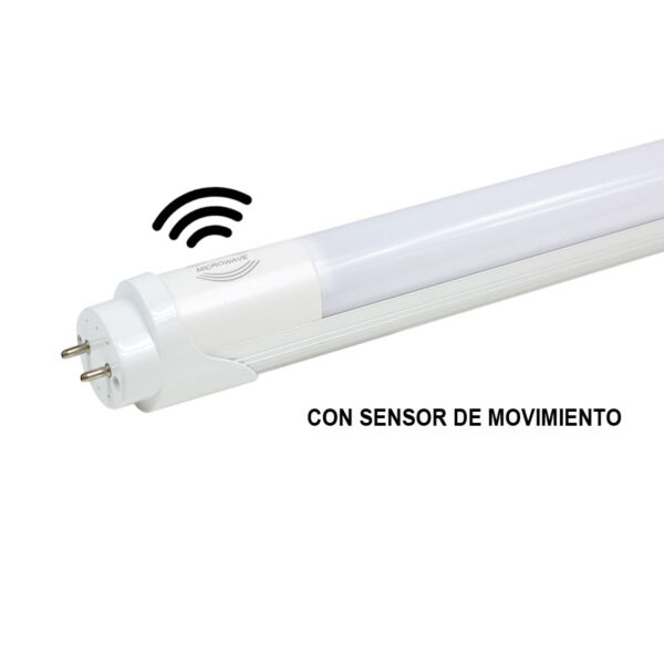 tubo led 60cm con sensor de movimiento